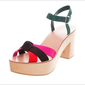 Loaffler Randall-Elsa Platform Sandals